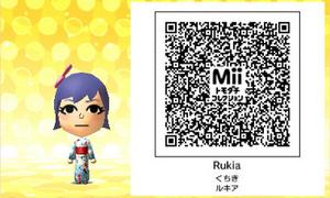 Rukia QR Code