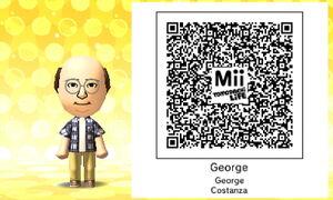 George QR Code