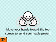 Bottom Screen Magic Show