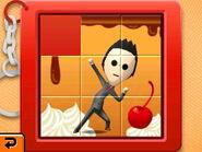 Slide puzzle sundae