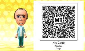 Nic Cage QR Code