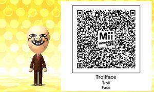 Trollface QR Code