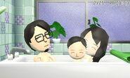 Happy Family in bath JP