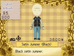 Satin Jumper (Black)