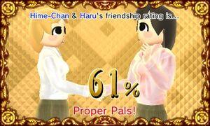 Proper Pals - Haru Kuguyashi and Hime-Chan