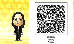 Wiseau QR Code