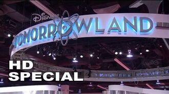 2013 D23 Expo Tomorrowland Exhibit Footage
