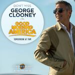 George Clooney Good Morning Promo