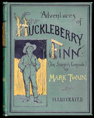 File:Huckleberry Finn cover.jpg