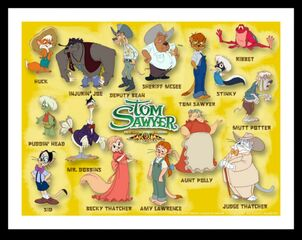 Tom Sawyer Characters 2000
