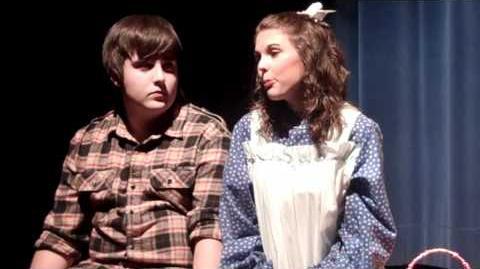 Tom Sawyer & Becky;