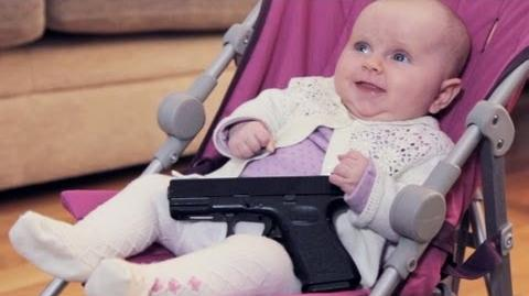 Baby With A Gun
