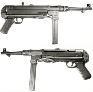 MP40 Submachine Gun