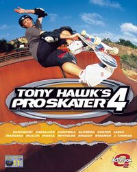Game Cover Tony Hawk's Pro Skater 4