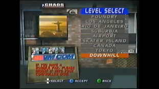 THPS3 (N64) - Downhill - Level select