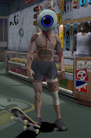 Character Neversoft Eyeball