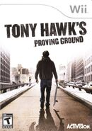 Tony Hawk's Proving Ground Wii Cover