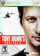 Tony Hawk's Project 8 Xbox 360 Cover