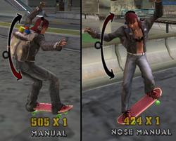 Manual-Nose Manual