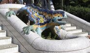 Parc Güell Dragon Restored