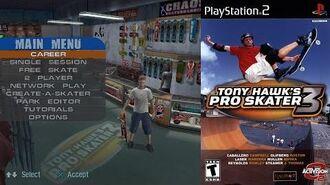 Tony Hawk's Pro Skater 3 (PS2 Intro)