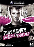 Tony Hawk's American Wastleland Nintendo GameCube Cover