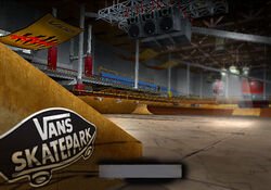Loading Screen Vans Park