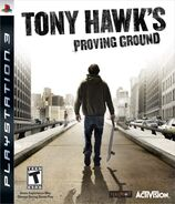 Tony Hawk's Proving Ground PlayStation 3 Cover