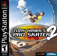 Game Cover THPS2 PS1
