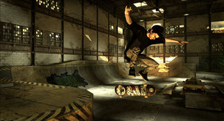 THPS HD Screenshot 7 Huston flip
