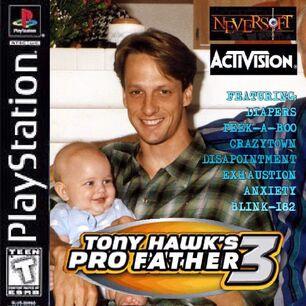 Tony hawk pro father