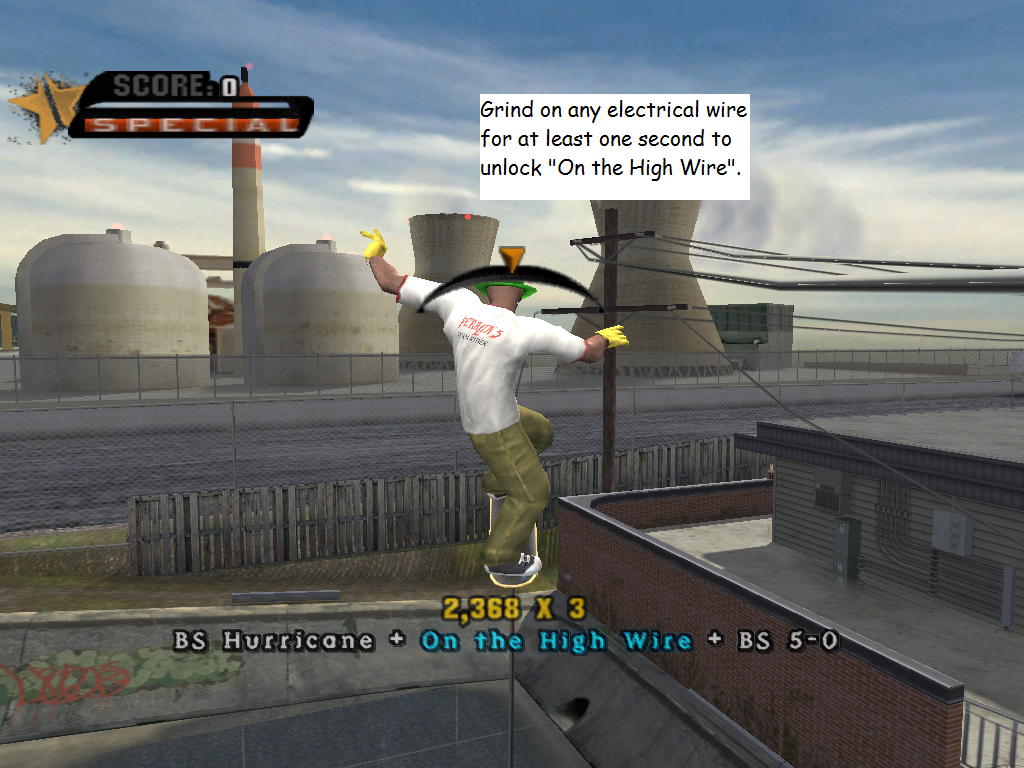 Image - OnTheHighWireImageandMethod.png | Tony Hawk\'s Games Wiki ...