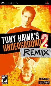 Game Cover Tony Hawk's Underground 2 Remix
