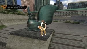 Thug vanc statue