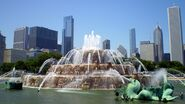 Real Chicago Fountain