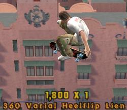 360 Varial Heelflip Lien
