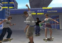 THPS3 LA Beta Carwash