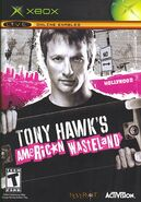 Tony Hawk's American Wastleland Xbox Cover