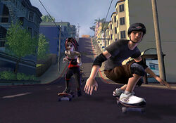 Junx and Tony Hawk