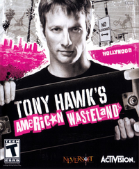 Tony Hawk's American Wasteland Cover