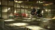 THPS HD Screenshot 5 Hawk fside air