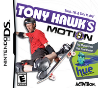 Tony Hawk's Motion Cover