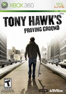 Tony Hawk's Proving Ground Xbox 360 Cover
