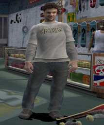 Bam Margera (THPS3)