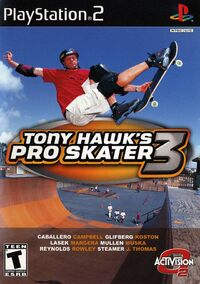 Game Cover THPS3 PS2