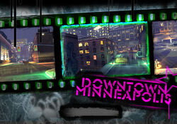 Loading Screen Downtown Minneapolis