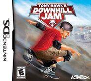 Tony Hawk Downhill Jam Nintendo DS Cover