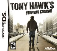 Tony Hawk's Proving Ground Nintendo DS Cover