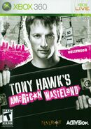 Tony Hawk's American Wastleland Xbox 360 Cover