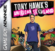 Tony Hawk's American Sk8land Game Boy Advance Cover
